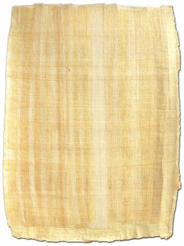 Ägyptisches Papyrus Blatt 32x22cm Naturrand, Papyri reine Handarbeit