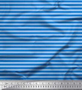 Soimoi-Fabric-Horizontal-Stripe-Print-Fabric-by-Yard-ST-2B