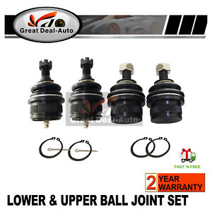 Upper-amp-Lower-Ball-Joints-Fit-For-Ford-NA-NL-amp-EA-EF-EL-Fairlane-Falcon-Fairmont-LTD