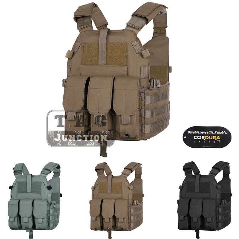 Emerson LBT 6094K Plate Carrier Tactical Vest Body Armor w  Pouches Waterproof
