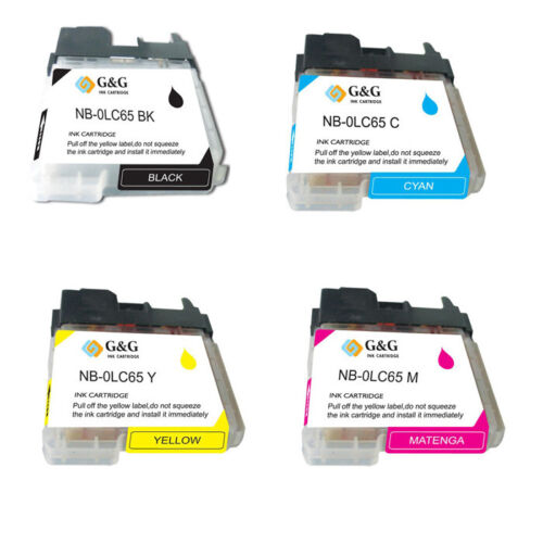 Ink Cartridge SET /_ LC65 /_ fit  mfc 6490cw FREE SHIPPING! 4