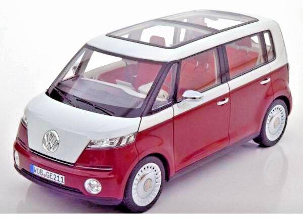 NOREV 1:18 VW BULLI CONCEPT CAR 2011 DEALER EDITION (ca. 25 cm)