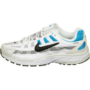 Nike-P-6000-Sneaker-Uomo-CV3038-101-White-Black-Laser-Blue-Lt-Smoke-Grey