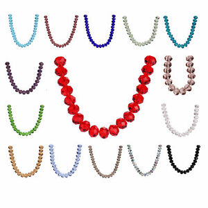 10pcs-18mm-Charms-Crystal-Glass-Faceted-Rondelle-Loose-Spacer-Beads-Jewelry-Bead