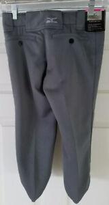 Mizuno GraySoftball Pants Girl Youth Size LARGE
