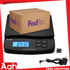66lb X 01oz Digital Postal Shipping Scale Weight Postage Counting 30kg Ampadapter