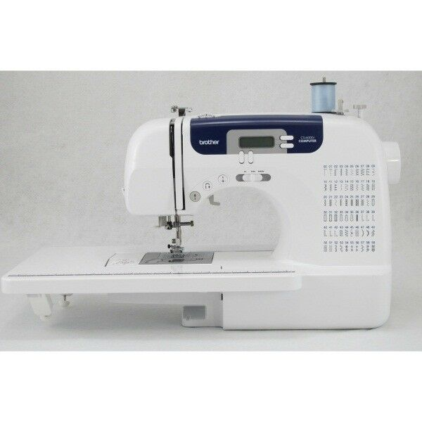 Brother CS40i 40Stitch Computerized Sewing Machine With Wide Impressive Brother Sewing Machine 6000i Manual