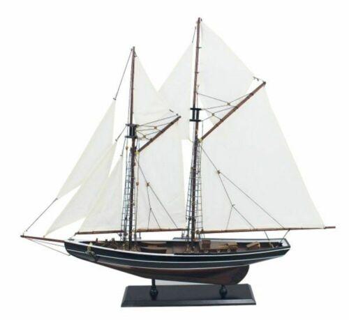 Gaffel Schoner Bluenose Schiffsmodell alter Kanadischer Fischerei Schoner