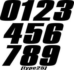 motorcycle mx number plate decals motocross stickers atv sx rm kx yz go kart ebay. Black Bedroom Furniture Sets. Home Design Ideas