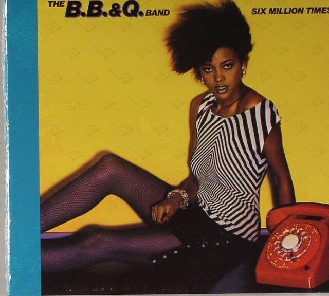 The B.B. & Q. Band  Six Million Times CD Neu OVP