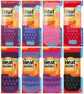 Heat-Holders-Ladies-Winter-Non-Slip-Gripper-Thermal-Slipper-Socks-with-Grips