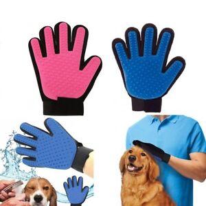 Pet-Grooming-Glove-Dog-Cat-Dirt-Hair-Fur-Removal-Remover-Brush-Gentle-Deshedding