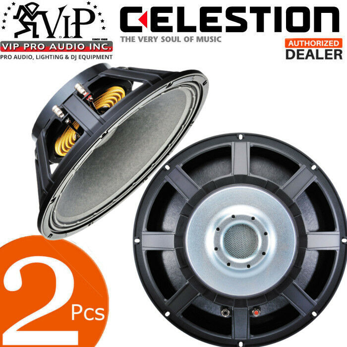 2pcs Celestion FTR15-3070C 15  Professional Cast Frame Speaker 400W 8Ω Woofer