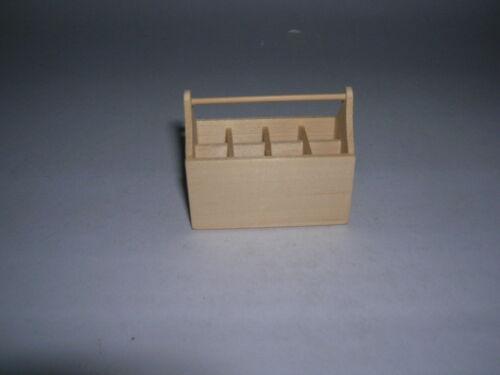 Holzträger bouteilles Porte-Outil porte-poupée 1:12 Art RX 1551