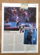 IRON MAIDEN 'in Toronto 2012' concert review UK ARTICLE / clipping