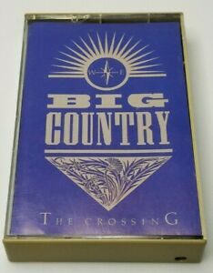 Big Country The Crossing Audio Cassette Tape 1983 Polygram Records
