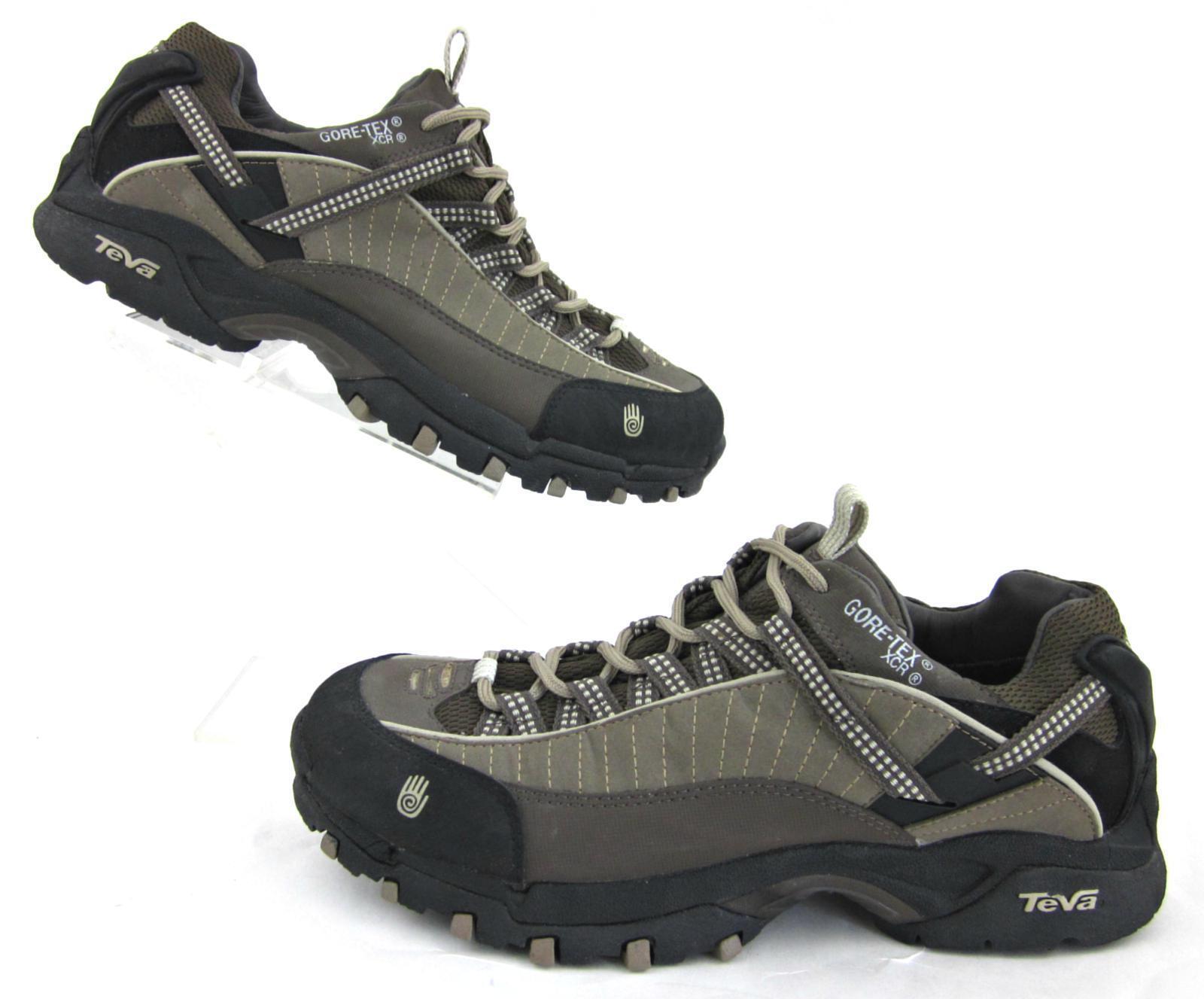 NEW  Teva XCR GORE-TEX Waterproof Hiking Trail shoes Brown Sz 8