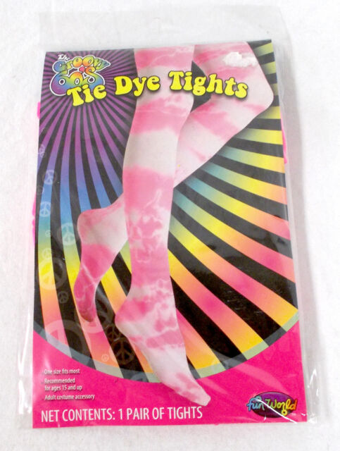 Hot Pink Fishnet Tights Womens Halloween Costume Accessory Plus NIP