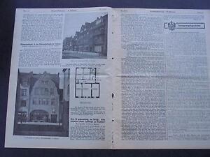 1916 Baugewerkszeitung 39/bremen Walsroder Rue-ung 39 / Bremen Walsroder Straße Fr-fr Afficher Le Titre D'origine