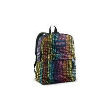 Jansport Superbreak Backpack Black/Multi Reptile