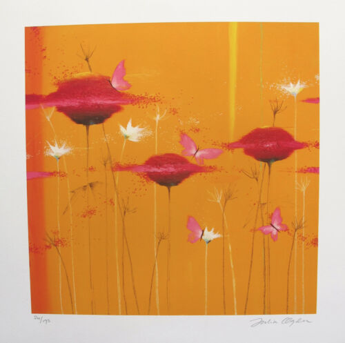 "JULIA OGDEN /""ORANGE BLOSSOMS/"" Limited Edition Hand Signed Giclee Art"