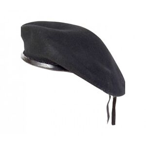 New WOOL Mens Ladies Black Beret Hat Cap Army Military - Fashion or ... e0a9c4c4c7d
