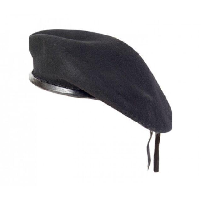 NEW WOOL MENS LADIES BERET CAP HAT ARMY MILITARY FANCY DRESS TACTICAL PATROL