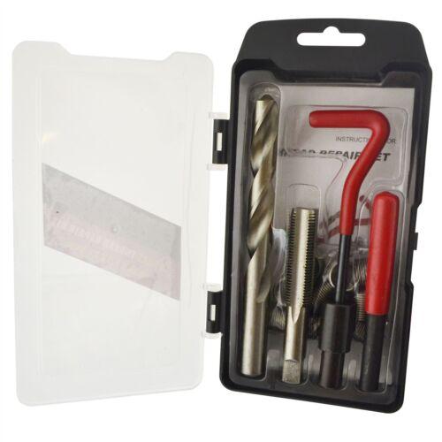 M14 x 1.5mm filetage réparation kit//helicoil 9pc jeu endommagé filetage 15pc AN025