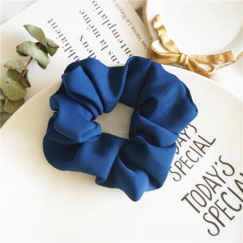 Women Girl Ponytail Bun Hair Band Elastic Scrunchie Hair Ring Rope Accessories