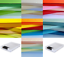 CHOICE OF COLOURS DALTON MANOR 250 SHEET A5 CARD PACK 160gm