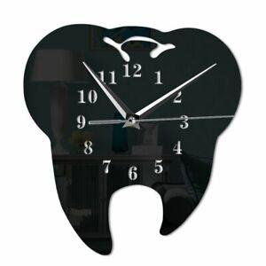 Wall Clock Dental Clinic Office Decoration Mirror Effect Quartz Clocks Watch New