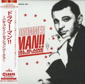 V-A-DRUMMER-MAN-HAL-BLAINE-SESSION-WORKS-JAPAN-2-MINI-LP-CD-C94