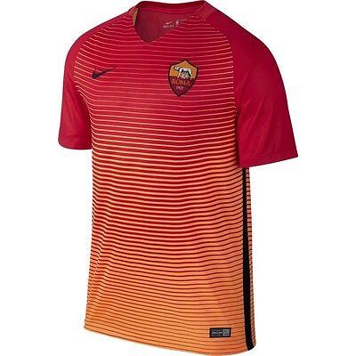 Nike AS Roma Season 2017-2018 Away Soccer Jersey Brand New White
