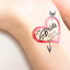 Custom-Bachelorette-Party-Tattoos-Hen-039-s-Night-Temporary-Tattoos-Team-Bride thumbnail 27