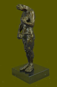 Sideshow-Alien-Warrior-Real-Bronze-Sculpture-Hot-Cast-by-Lost-Wax-Method-Decor