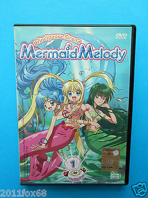 dessins animés cartoons dvds principesse sirene mermaid melody dvd n. 1 usato gq