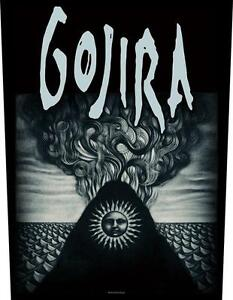 OFFICIAL-LICENSED-GOJIRA-MAGMA-SEW-ON-BACK-PATCH-METAL