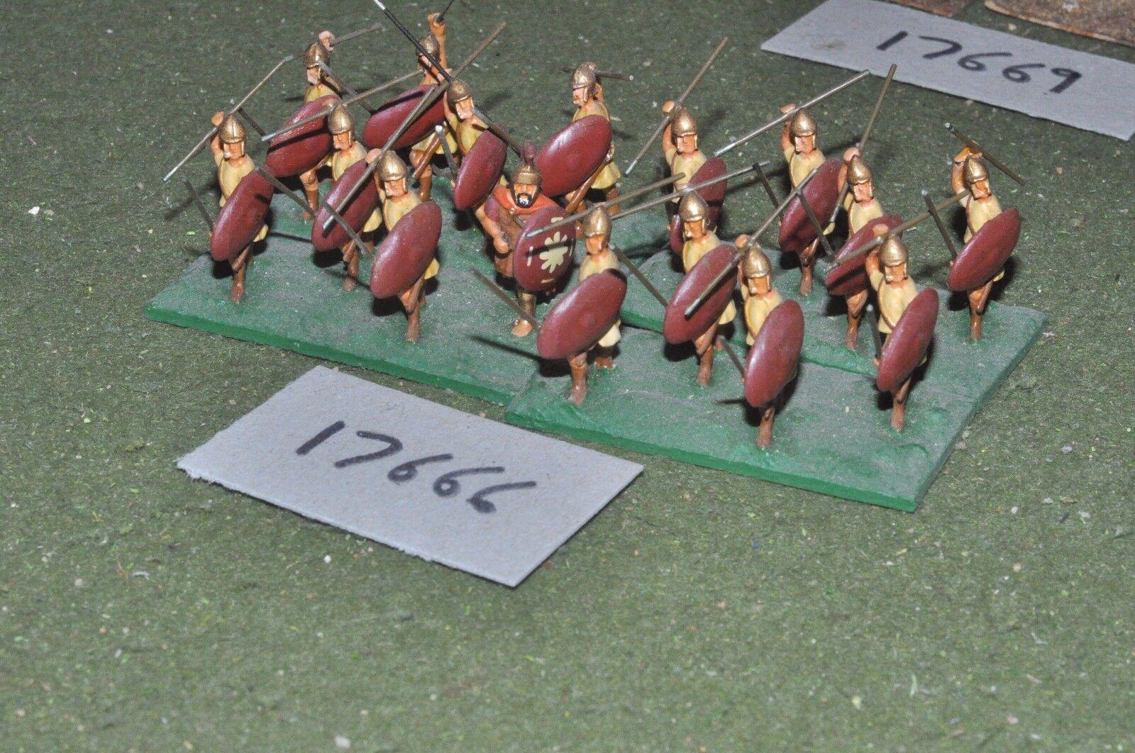 25mm classical   greek - javelinmen 16 figs - inf (17666)
