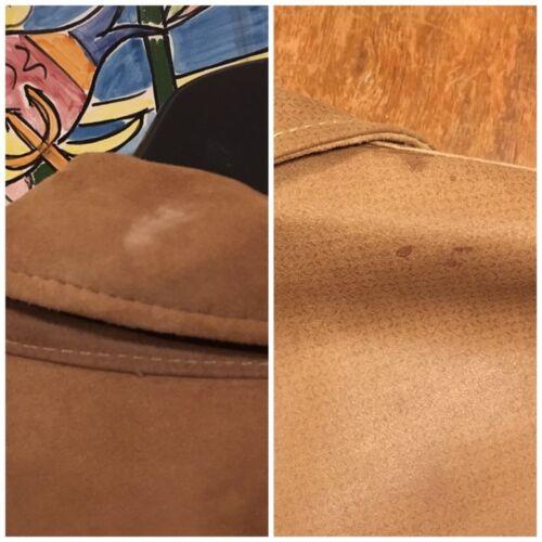 de suède 42 en van maat jas Vintage andere kant leder de aan dubbelzijdige ene AwpnvqxO5