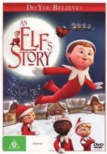 AN-ELF-039-S-STORY-The-Elf-On-The-Shelf-DVD-CHRISTMAS-TV-MOVIE-BRAND-NEW-R4