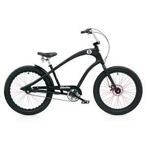 Electra-Straight-8-3i-Men-DISC-Cruiser-Fahrrad-Schwarz-akt-Modell-eight-ball