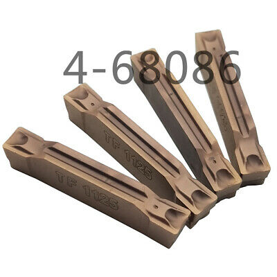 10pcs N123H2-0400-0004-TF 4225 4mm wide Grooving cutting inserts N123 FOR RF123H