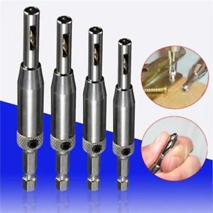 4X-HSS-Self-Center-Hinge-Drill-Bit-Sight-Wood-Door-Lock-Hinge-Drill-Bit-Set-DB
