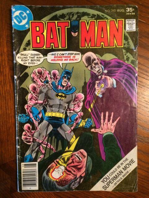 Batman #290 1977 VG 4.0