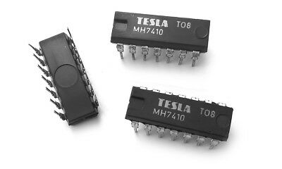 1 pcs MH7410 SN7410N TRIPLE 3-INPUT POSITIVE-NAND 7410 IC