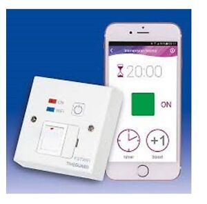 timeguard wi fi controlled fused spur timeswitch wall