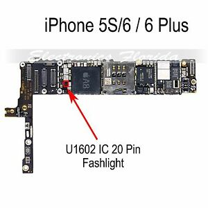 iphone 5s flashlight not working ic u1602 flashlight 64a1 20 pin for iphone 17466