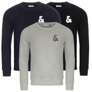 Jack-amp-Jones-Pull-Sweatshirt-automne-hiver-2019-20-Chest-Sweat-S-M-L-XL-XXL