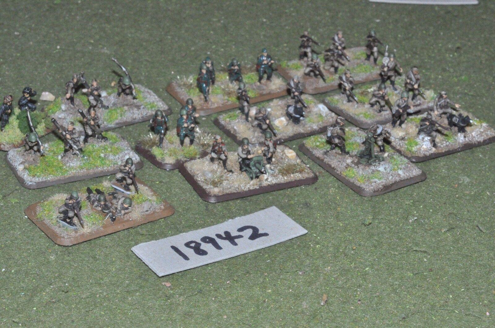 tienda de venta 15mm 15mm 15mm Segunda Guerra Mundial ruso-Infantería Guerra Mundial 2-INF (18942)  contador genuino