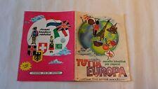 Album figurine TUTTA EUROPA Raccolte istruttive per ragazzi No completo 257/446